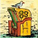 Spiral-Notizbuch 12x15 Strandkorb