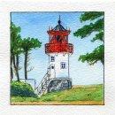 Spiral-Notizbuch 18x22 Leuchtturm Hiddensee Gellen