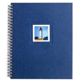 Spiral-Notizbuch 18x22 Leuchtturm Hiddensee Dornbusch