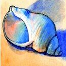 Spiral-Notizbuch 18x22 Schneckenmuschel
