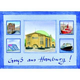 w29211-postkarte-a6-collage-alter-elbtunnel
