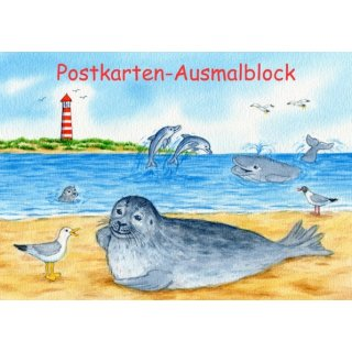 w35200-postkarten-ausmalblock-a6-robben+meer