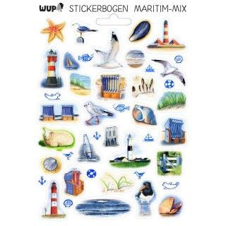 w37014-stickerbogen-a5-maritim-mix