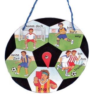 Türschild Fußball