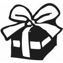 Stempelchen Geburtstagskinder, 6 Stempelchen und 1 Stempelablage in Schachtel