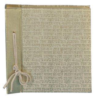 Fotoalbum Sanskrit 28x30 cm, 60 Seiten aus Büttenpapier