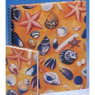 Spiral-Notizbuch 21x25 Strandleben