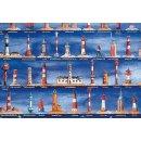 Spiral-Notizbuch Leuchttürme 11 x 18 cm