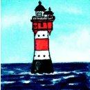 Spiral-Notizbuch 12x15 Leuchtturm Roter Sand