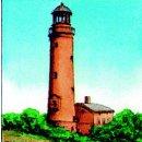 Spiral-Notizbuch 12x15 Leuchtturm Darßer Ort