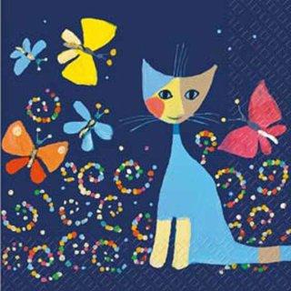 Servietten Rosina Wachtmeister, Schmetterlingstanz, 20 Stück