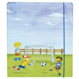 Heftbox A4 Fußballjungs