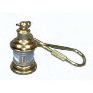 Messing-Schlüsselanhänger Ankerlaterne 2