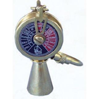 Messing-Schlüsselanhänger Maschinentelegraf