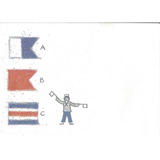 Briefumschläge C6 Flaggen ABC, 20 Stück