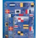 Spiral-Notizbuch 12x15 Flaggen ABC
