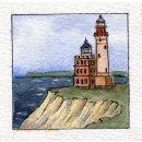 Foto-Spiralalbum 21x21 Leuchtturm Kap Arkona See