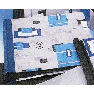 w10708 Fotoalbum 22x25 cm Blue Art