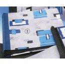 Fotoalbum 22x25 cm Blue Art