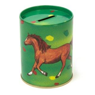 Spardose Pferde